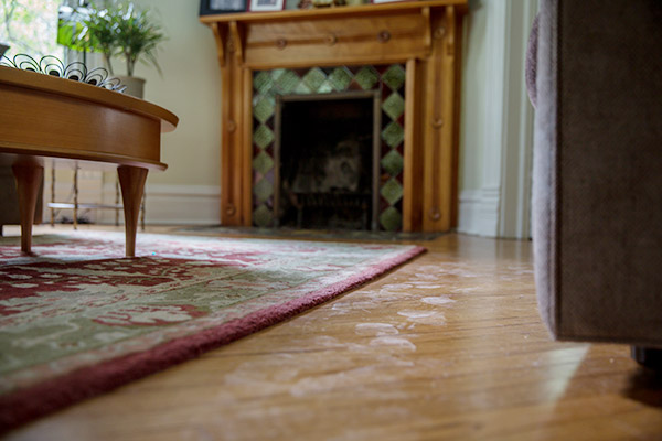 dust in home during remodeling