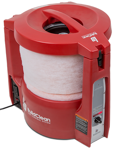 BuildClean HEPA 360 Air Scrubber
